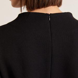 Lanius Hoge Halslijn Jurk_KOKOTOKO duurzame kleding