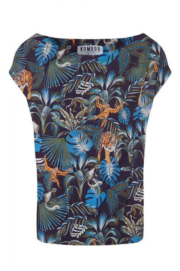 Komodo Sensa top Jungle print_KOKOTOKO duurzame kleding