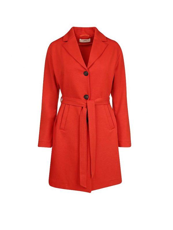 Lanius jas Jersey Mantel kleur Melon_KOKOTOKO duurzame kleding