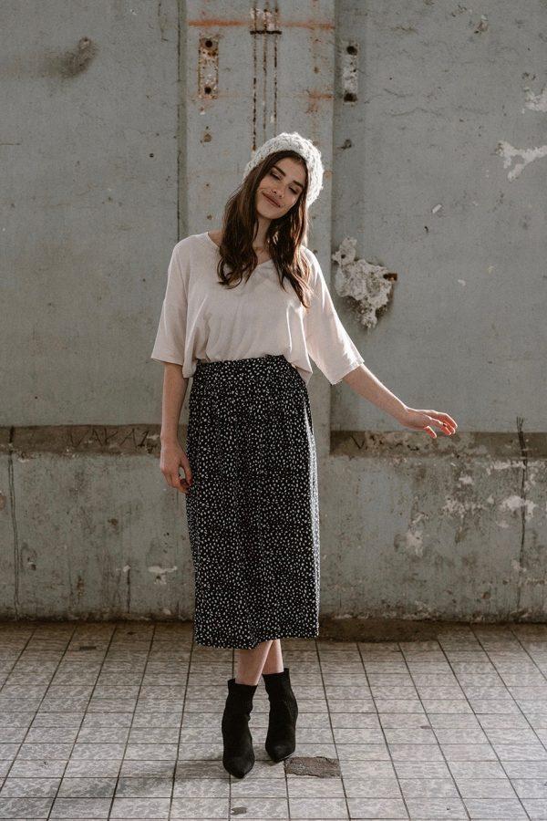 J LABEL Bodhi Skirt Animal Dot Print_KOKOTOKO duurzame kleding