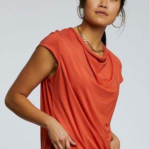 Komodo Sensa top kleur rood Pepper Oosterstraat Groningen duurzame kleding fair fashion happy stuff