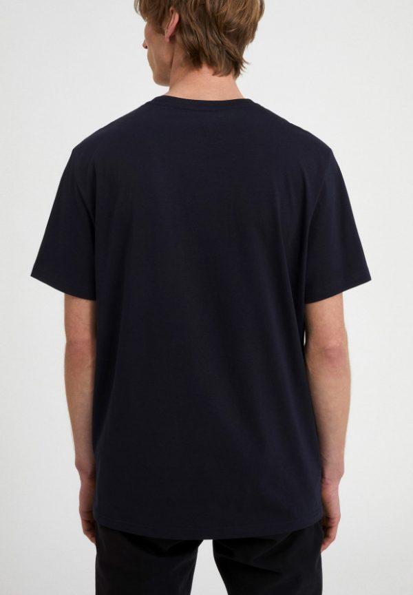 Armedangels Aado t-shirt Navy _ KOKOTOKO duurzame kleding Groningen
