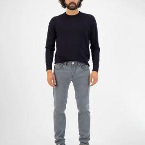 MUD Jeans Regular Dunn stretch 03 Grey _ KOKOTOKO duurzame kleding Groningen