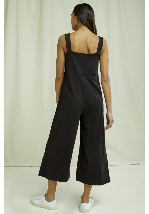 People Tree Diana jumpsuit Black_KOKOTOKO duurzame kleding Groningen