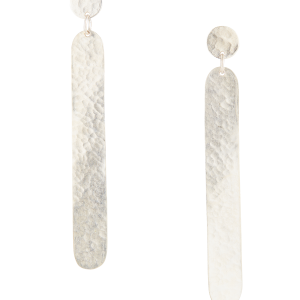 People Tree Dot Dash earrings Silver_KOKOTOKO duurzame kleding