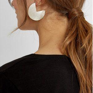 People Tree accessoires oorbellen Segment earrings van Silver Oosterstraat Groningen duurzame kleding fair fashion happy stuff