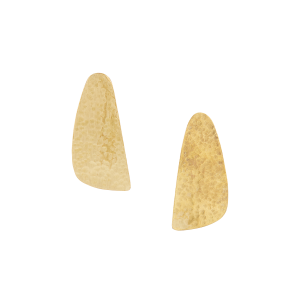 People Tree Wing Stud earrings Brass_KOKOTOKO duurzame kleding