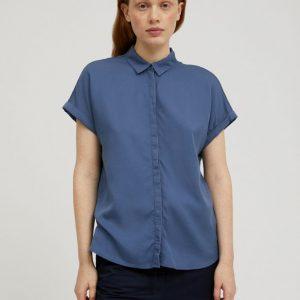 Armedangels Zonjaa blouse in Foggy blue Oosterstraat Groningen duurzame kleding fair fashion happy stuff