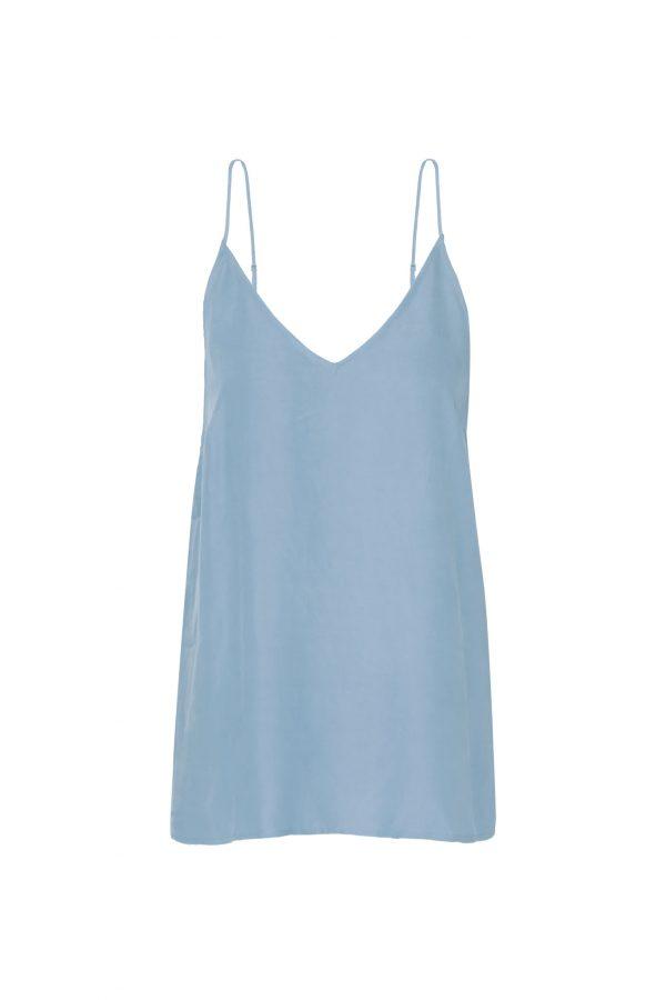 Komodo top Club 100 kleur Misty blue Oosterstraat Groningen duurzame kleding fair fashion happy stuff