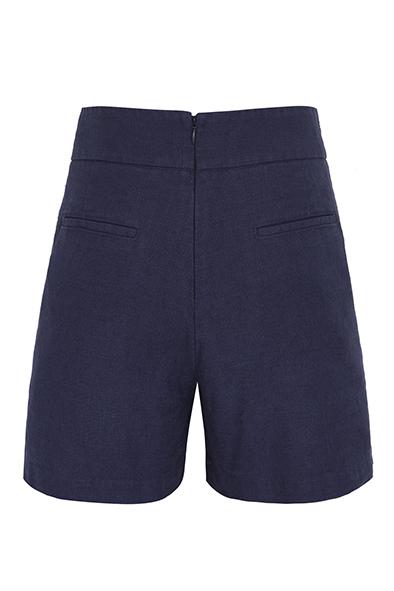 Komodo broek Muni short in Ink_KOKOTOKO duurzame kleding