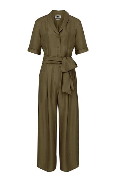 Komodo broek Planet jumpsuit in Khaki_KOKOTOKO duurzame kleding