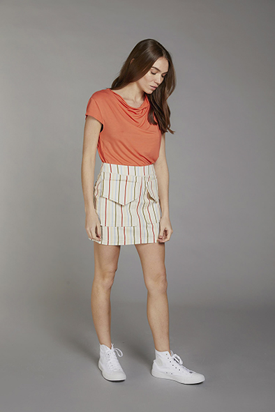 Komodo Sensa top kleur Coral_KOKOTOKO duurzame kleding