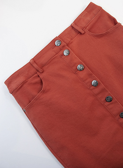 Komodo rok Sundara skirt in Lava_KOKOTOKO duurzame kleding