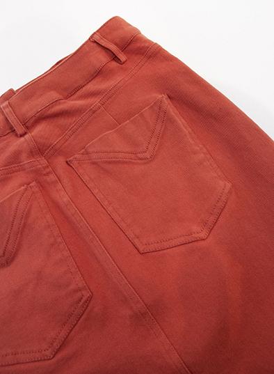 Komodo broek Jenja Short in Lava_KOKOTOKO duurzame kleding