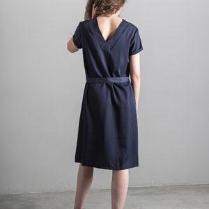 Lavandera Dress DELI Marine_KOKOTOKO duurzame kleding
