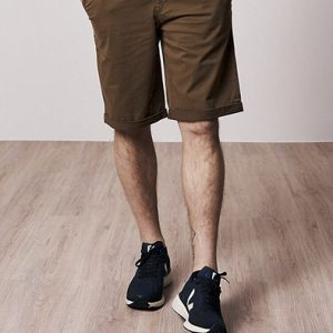 Bleed Chino Shorts in Brown Oosterstraat Groningen duurzame kleding fair fashion happy stuff