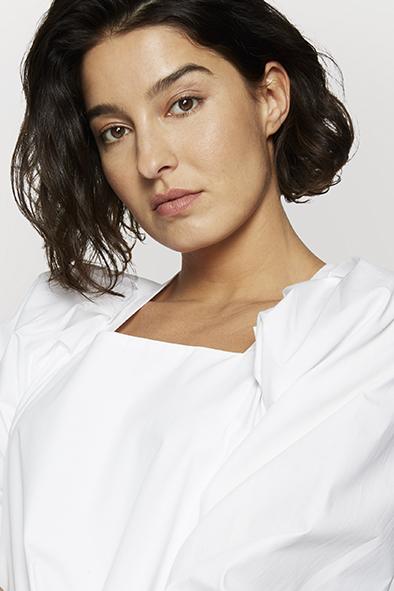 Charliemary Vivienne blouse White _ KOKOTOKO duurzame kleding Groningen
