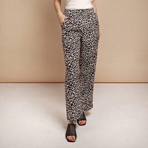 JLABEL broek Meena pants African Leopard print Oosterstraat Groningen duurzame kleding fair fashion happy stuff