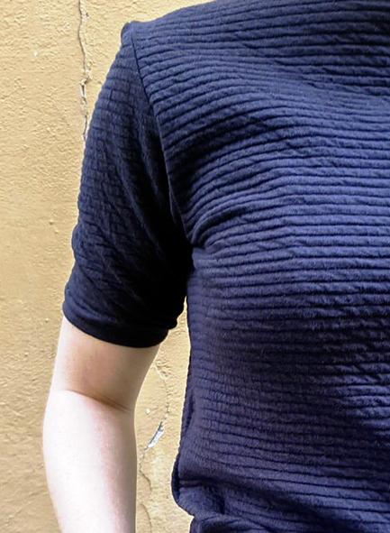 Charliemary Rosa top Midnight blue _ KOKOTOKO duurzame kleding Groningen
